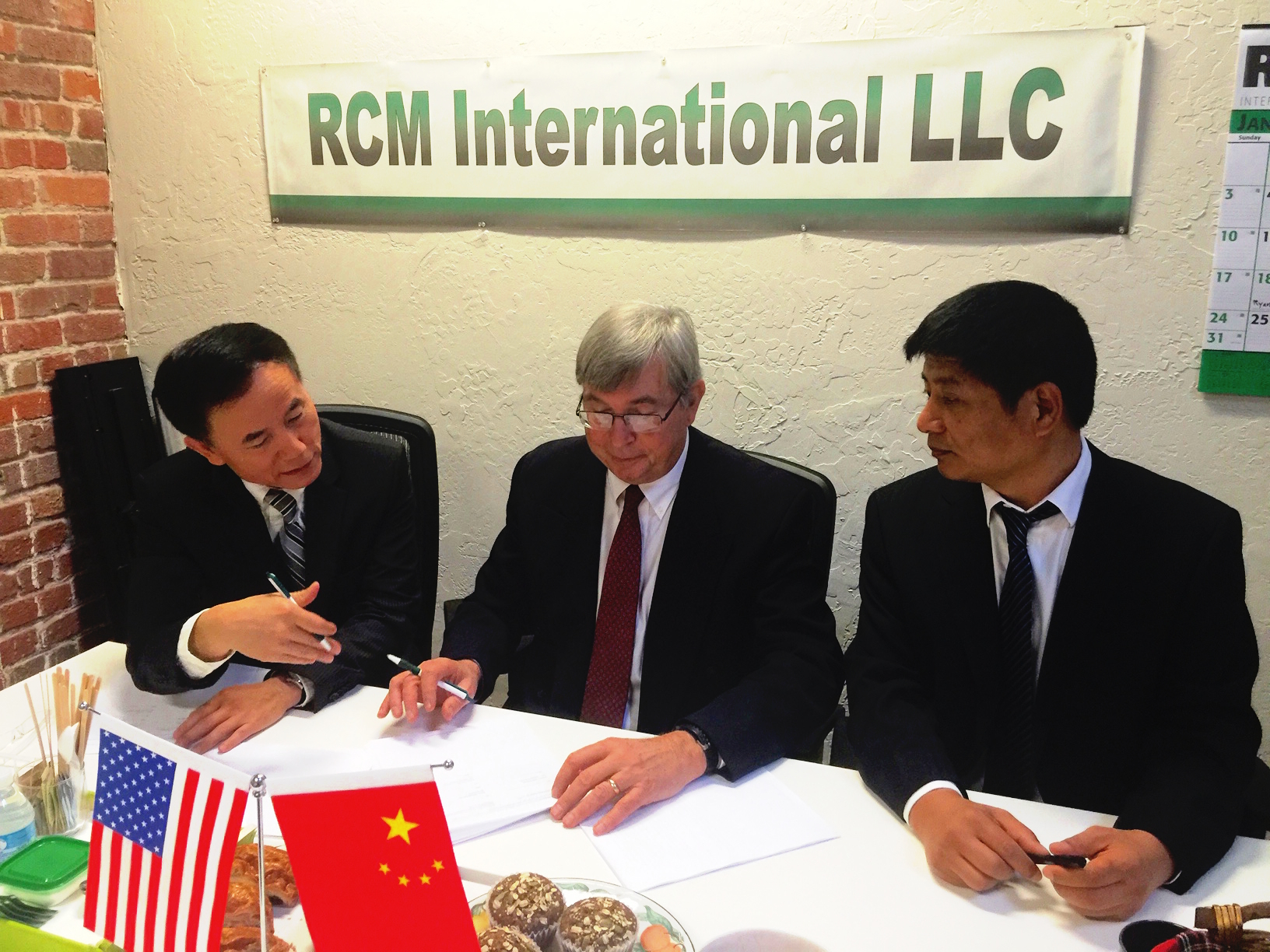 RCM-Jianyan agree to enter China Pollution Control Market
